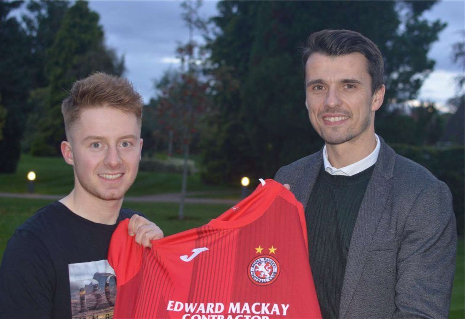 Brora Rangers have signed Forres Mechanics' top scorer Andy Macrae