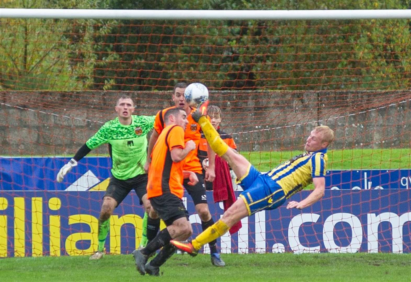 All today's Highland League football action