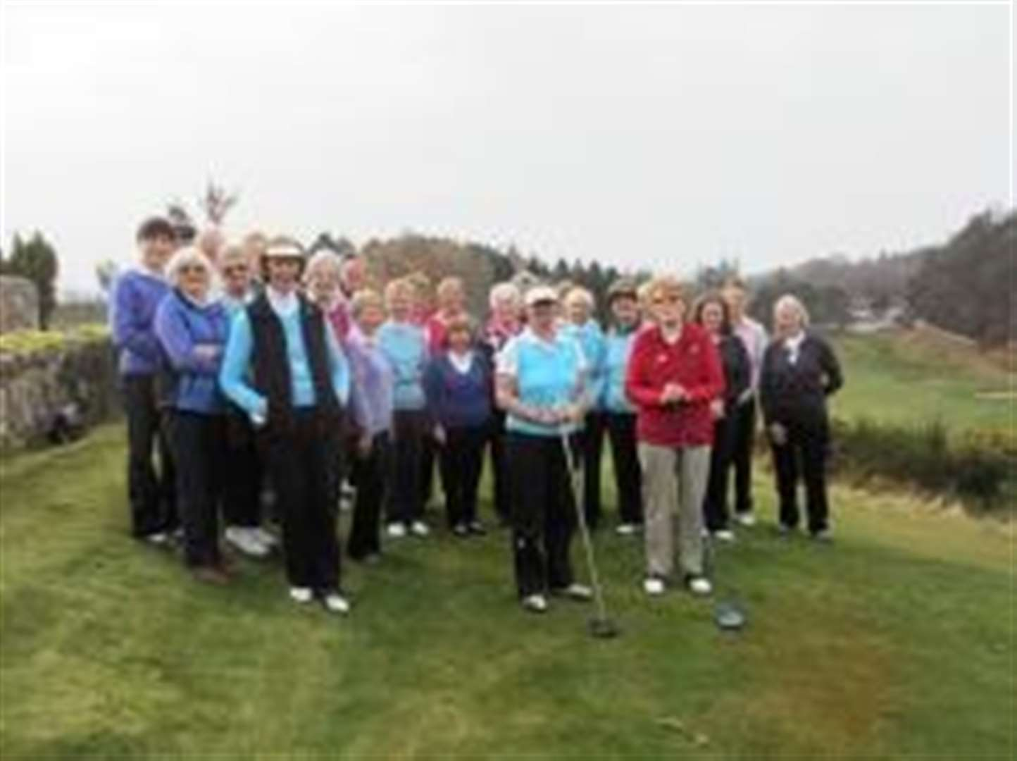 Golfers get the season underway