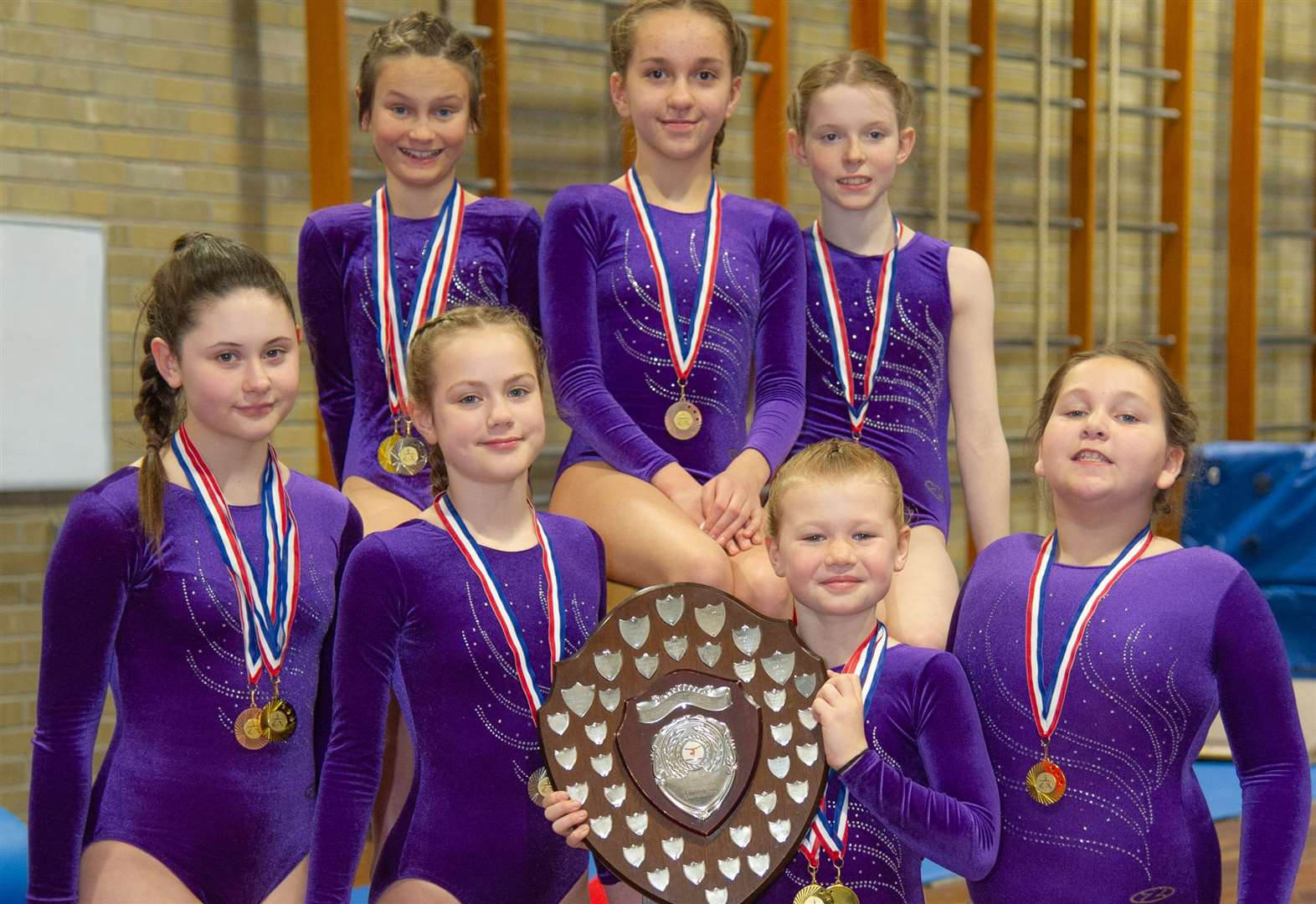 Forres gymnasts go for gold