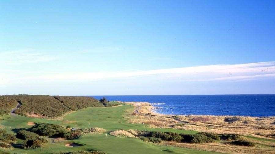 Royal Dornoch is rated one of the best golf courses in the world.