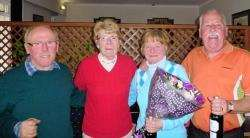 Winners of the spring meeting at Forres Golf Club
