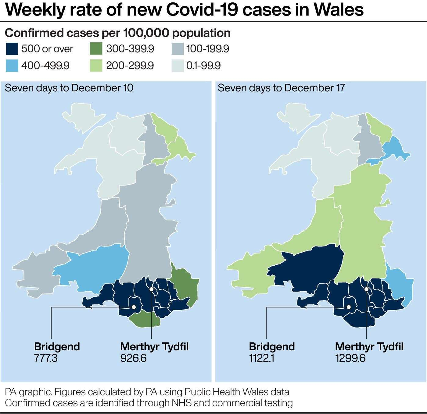 Wales First Minister warns of danger to NHS from new Covid strain