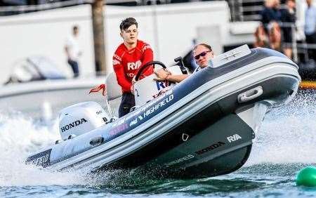 Jamie Paterson, Powerboat, Powerboating, Royal Yachting Association Scotland, RYA Honda Youth Challenge